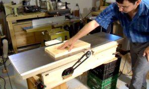 Изготовление деревообрабатывающих станков своими руками