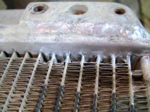 Как паять медный радиатор