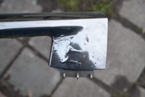 Как снять хром с металла