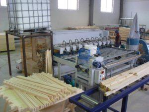 Оборудование для производства мебели из массива