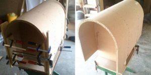 Изготовление гнутых фасадов своими руками
