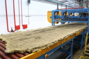 Производство базальтового утеплителя