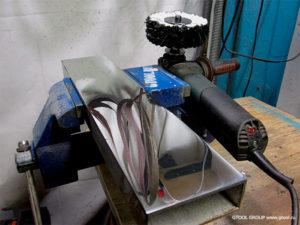 Шлифовка алюминия на шлифовальном станке