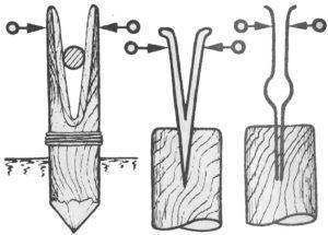 Щемилка для лозы своими руками